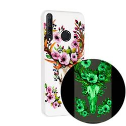 Sika Deer Noctilucent Soft TPU Back Cover for Huawei Y6p