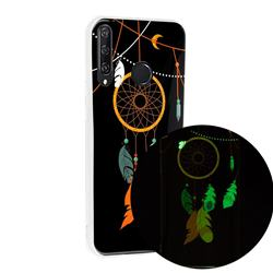 Dream Catcher Noctilucent Soft TPU Back Cover for Huawei Y6p
