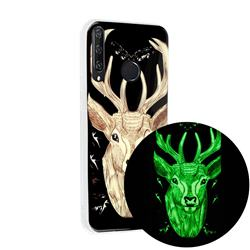Fly Deer Noctilucent Soft TPU Back Cover for Huawei Y6p