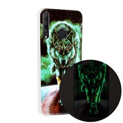 Wolf King Noctilucent Soft TPU Back Cover for Huawei Y6p