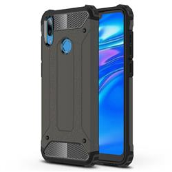 King Kong Armor Premium Shockproof Dual Layer Rugged Hard Cover for Huawei Y7(2019) / Y7 Prime(2019) / Y7 Pro(2019) - Bronze