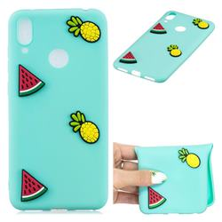 Watermelon Pineapple Soft 3D Silicone Case for Huawei Y7(2019) / Y7 Prime(2019) / Y7 Pro(2019)