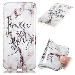 Forever Soft TPU Marble Pattern Phone Case for Huawei Y7 Pro (2018) / Y7 Prime(2018) / Nova2 Lite