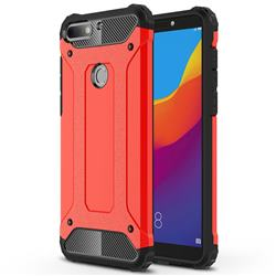 King Kong Armor Premium Shockproof Dual Layer Rugged Hard Cover for Huawei Y7 Pro (2018) / Y7 Prime(2018) / Nova2 Lite - Big Red