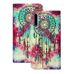 Butterfly Chimes PU Leather Wallet Case for Huawei Y8p