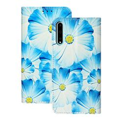 Orchid Flower PU Leather Wallet Case for Huawei Y8p