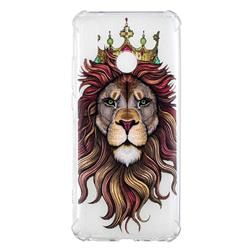 Lion King Anti-fall Clear Varnish Soft TPU Back Cover for Huawei Y9 (2019)