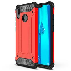 King Kong Armor Premium Shockproof Dual Layer Rugged Hard Cover for Huawei Y9 (2019) - Big Red