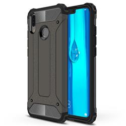 King Kong Armor Premium Shockproof Dual Layer Rugged Hard Cover for Huawei Y9 (2019) - Bronze