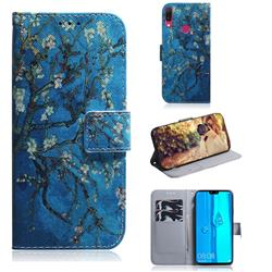 Apricot Tree PU Leather Wallet Case for Huawei Y9 (2019)