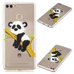 Tree Panda Super Clear Soft TPU Back Cover for Huawei Y9 (2018)