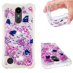 Diamond Dynamic Liquid Glitter Sand Quicksand Star TPU Case for LG Aristo 2