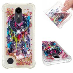Seal Wind Chimes Dynamic Liquid Glitter Sand Quicksand Star TPU Case for LG Aristo 2