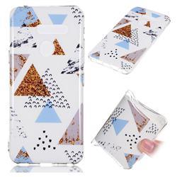 Hill Soft TPU Marble Pattern Phone Case for LG G8 ThinQ (LG G8s ThinQ)