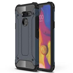 King Kong Armor Premium Shockproof Dual Layer Rugged Hard Cover for LG G8 ThinQ (G8s ThinQ) - Navy