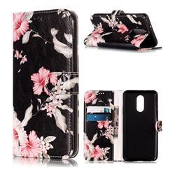 Azalea Flower PU Leather Wallet Case for LG Stylo 4