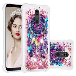 Seal Wind Chimes Dynamic Liquid Glitter Sand Quicksand Star TPU Case for LG Stylo 5