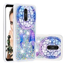 Fantasy Wind Chimes Dynamic Liquid Glitter Quicksand Soft TPU Case for LG Stylo 5