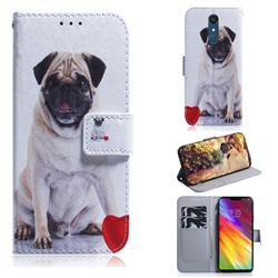 Pug Dog PU Leather Wallet Case for LG Stylo 5