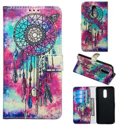Butterfly Chimes PU Leather Wallet Case for LG Stylo 5