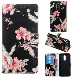 Azalea Flower PU Leather Wallet Case for LG Stylo 5