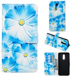 Orchid Flower PU Leather Wallet Case for LG Stylo 5