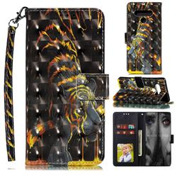 Tiger Totem 3D Painted Leather Phone Wallet Case for LG Stylo 6