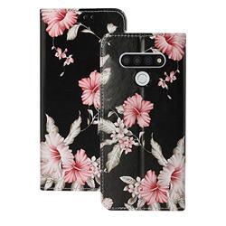 Azalea Flower PU Leather Wallet Case for LG Stylo 6