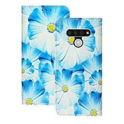 Orchid Flower PU Leather Wallet Case for LG Stylo 6