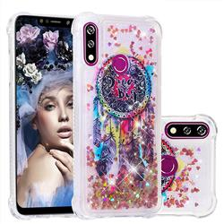 Seal Wind Chimes Dynamic Liquid Glitter Sand Quicksand Star TPU Case for LG W10