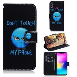 Not Touch My Phone PU Leather Wallet Case for LG W10