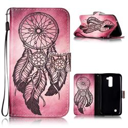 Wind Chimes Leather Wallet Phone Case for LG K10