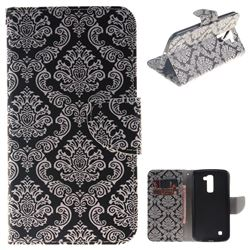 Totem Flowers PU Leather Wallet Case for LG K10 K420N K430DS K430DSF K430DSY