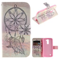 Dream Catcher PU Leather Wallet Case for LG K10 K420N K430DS K430DSF K430DSY