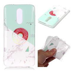 Donuts Marble Pattern Bright Color Laser Soft TPU Case for LG K10 (2018)