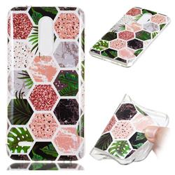 Rainforest Soft TPU Marble Pattern Phone Case for LG K10 (2018)