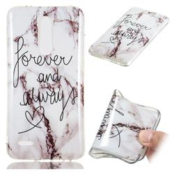 Forever Soft TPU Marble Pattern Phone Case for LG K10 (2018)