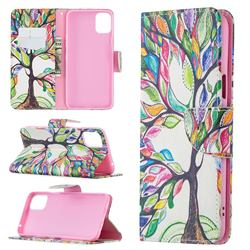 The Tree of Life Leather Wallet Case for LG K42