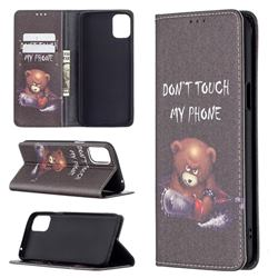 Chainsaw Bear Slim Magnetic Attraction Wallet Flip Cover for LG K42