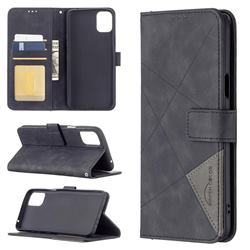 Binfen Color BF05 Prismatic Slim Wallet Flip Cover for LG K42 - Black
