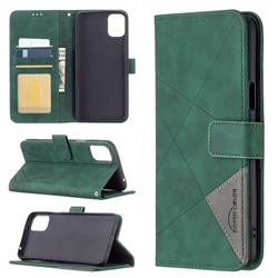 Binfen Color BF05 Prismatic Slim Wallet Flip Cover for LG K42 - Green