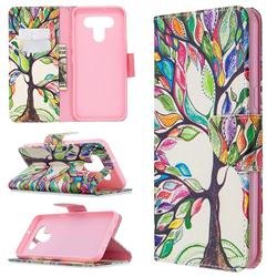 The Tree of Life Leather Wallet Case for LG K51