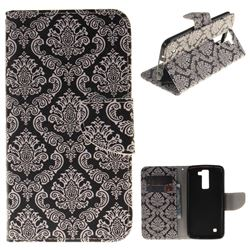 Totem Flowers PU Leather Wallet Case for LG K8