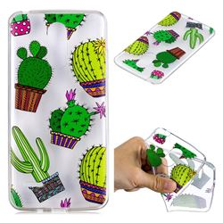 Cactus Ball Super Clear Soft TPU Back Cover for LG K8 2017 M200N EU Version (5.0 inch)