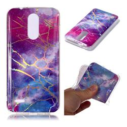 Dream Sky Marble Pattern Bright Color Laser Soft TPU Case for LG K8 (2018)