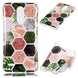 Rainforest Soft TPU Marble Pattern Phone Case for LG K8 (2018)