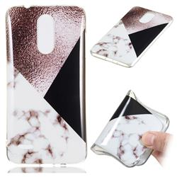 Black white Grey Soft TPU Marble Pattern Phone Case for LG K8 (2018)
