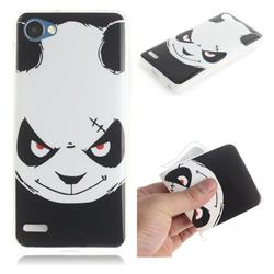 Angry Bear IMD Soft TPU Cell Phone Back Cover for LG Q6 (LG G6 Mini)