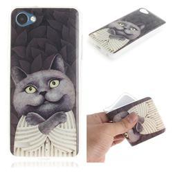 Cat Embrace IMD Soft TPU Cell Phone Back Cover for LG Q6 (LG G6 Mini)