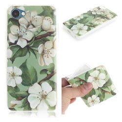 Watercolor Flower IMD Soft TPU Cell Phone Back Cover for LG Q6 (LG G6 Mini)